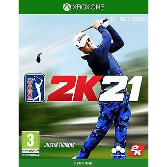 PGA Tour 2K21 Xbox One Joc