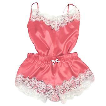 مثير الحرير الساتان ملابس النوم فضفاضة الدانتيل ملابس النوم روب Nightgowns & Sleepshirts