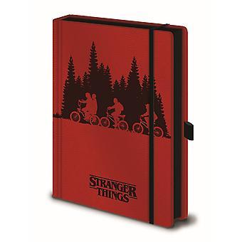 Cuaderno De Stranger Things Upside Down A5
