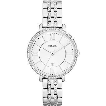 Fossil Jacqueline Quartz Crystals Accents Es3545 Women's Watch