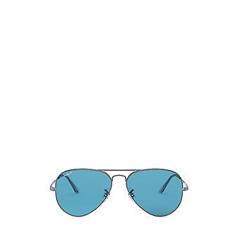 Ray-Ban RB3689 gunmetal unisex sunglasses