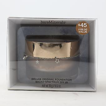 Bareminerals Moonlit Magic Deluxe Original Foundation Spf 15 0.6oz  New With Box