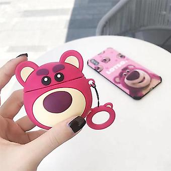 Case para Airpods Cute / Dustproof Headphone Case Soft