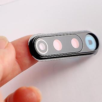 Pour Xiaomi Redmi objectif objectif en verre boîtier back cover avec cadre en métal remplacer