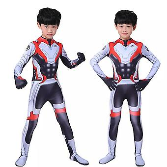 Kids Endgame Quantum Cosplay Costume
