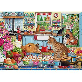 Gibsons Jigsaw Puzzle Tentant Tratează 1000 de piese