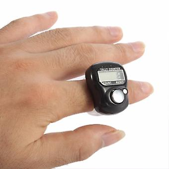 Mini Electronic Digital Finger Held-ring Tally Counter