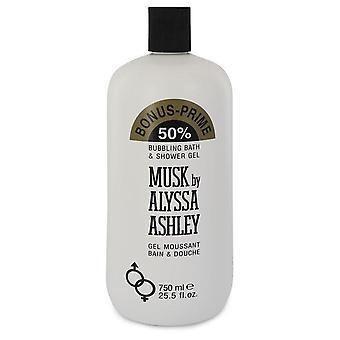 Alyssa Ashley Musk shower gel por Houbigant 25,5 oz shower gel
