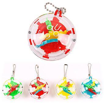 Mini bærbar puslespil Ball Cube, Anti-stress Educational Balance Cubic Magic