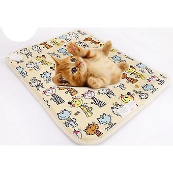 Cat Dog Electric Heating Pet Pad Heater Mat Bed Body Winter Warmer Carpet
