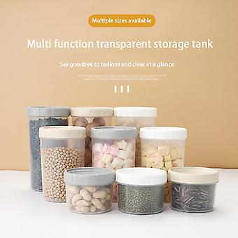 Storage Can Bottle Jars Large Plastic Storage Box Of Grain And Miscellaneous Grains Kitchen Household Food Dry Goods Sealed Can