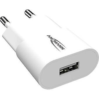 Ansmann HomeCharger HC105 1001-0112 USB-laddare Nätuttag Max utgångsström 1000 mA 1 x USB 2.0-port A
