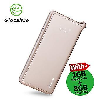 Glocalme u2 4g lte mobile Wi-Fi Hotspot, tragbare Wi-Fi für Reisen mit 1,1 gb Anfangsdaten, dual sim wof63433