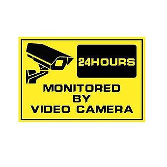 Wasserdichte Haus Cctv Video Überwachung Überwachungskamera Home Alarm Aufkleber