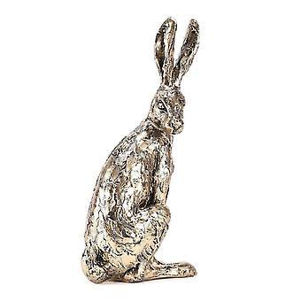 Widdop & Co. Meg Hawkins Collection Bronze Finish Resin Hare Figurine