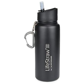 LifeStraw Go Stainless Steel 650ml Insulated Flask - White