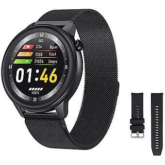 Chronus Smart Watch urheilu katsella kehon lämpötila IP68 Vedenpitävä