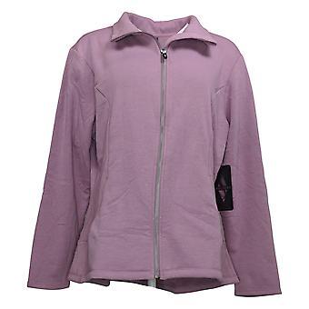 Skechers Women's 2XL Fleece Full-Zip Sweatshirt Purple A370484