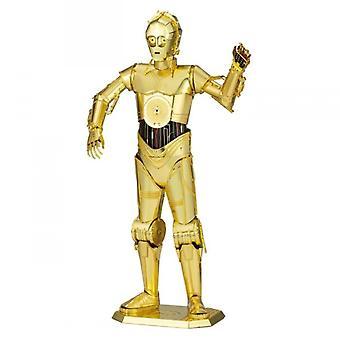 Star Wars C-3PO -hahmo Premium 3D Metal Earth Model Kit