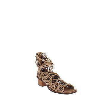 Stella McCartney | Faler Woven Gladiator Block-Heel Sandals