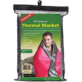 كوغلان بطانية حرارية لجميع الأغراض، ورقة عاكس إشارة المأوى في حالات الطوارئ