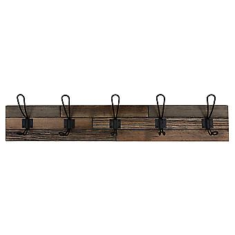 Industrial Style Coat Rack Wall Decor