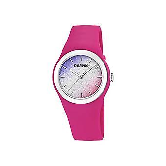 Calypso Uhren Analog Quarzuhr Damen mit Kunststoffarmband K5754/5