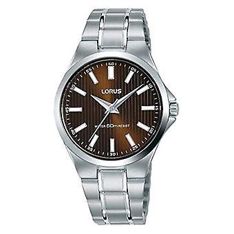 ساعة الكوارتز التناظرية للنساء من Lorus مع حزام الفولاذ المقاوم للصدأ RG231PX9