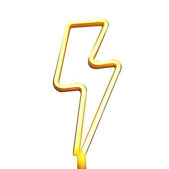 Led Neon Lightning geformt Neon Zeichen Licht