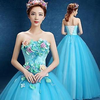 Φόρεμα Quinceanera στράπλες φόρεμα χορό χορό χορό φόρεμα