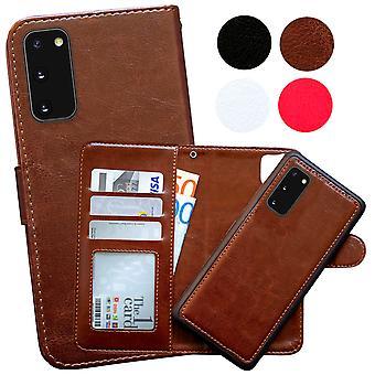 Samsung Galaxy S20 - Boîtier en cuir / Protection