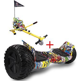 Juiste keuze Nieuwe Off-road hoverboard Bluetooth, Segway Elektrische scooter met verstelbare Hoverkart