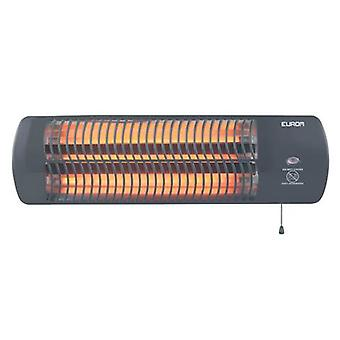 Eurom Q-time 1500 is great for heating the small terrace or balcony
