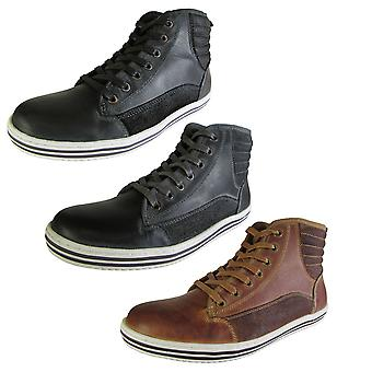 Steve Madden Mens Reasonur Hi Top Fashion Sneaker Sko