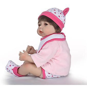 55cm Uudelleensyntyneet vauvanuket Docka Barn Leksaker Nyfödd Doll Girl Lahja