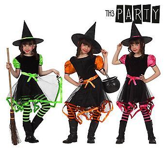Puku lapsille Witch Monivärinen