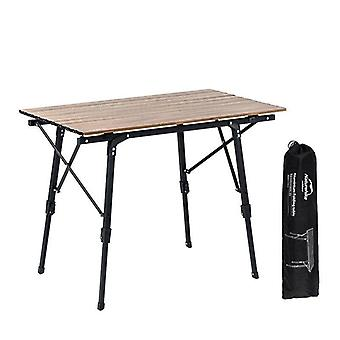 Outdoor Folding Camping Table, Telescopic Desk Table