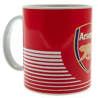 Arsenal FC Mug Stripe