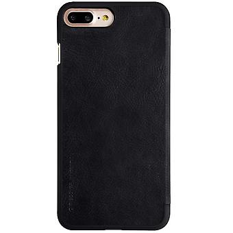 Nillkin M136937 Qin Wallet Book Case Negro para Apple Iphone 7 Plus