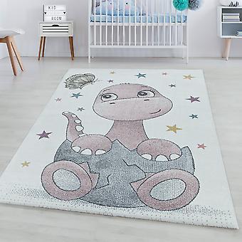 Tapis pour enfants FUNNY Chambre d'enfants Pile courte Tapis de jeu