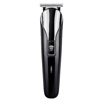 Stainless Steel Electric Six-purpose Hair Clipper-gold Usb