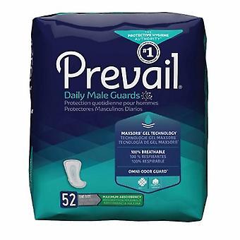 Första kvalitet urinblåsan kontroll pad råder dagliga manliga vakter 12-1/2 tums längd tung absorbans polymerkärna En , Fall av 126
