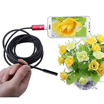 An99 5.5mm 6 Led Endoscope Borescope Inspection Camera For Android /for Pc