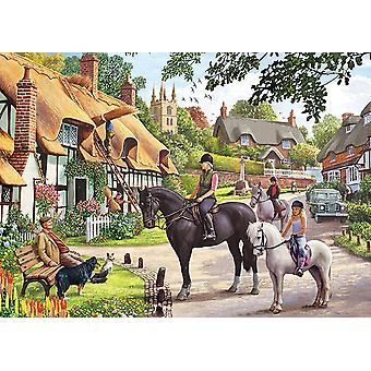 Otter House Country Life Jigsaw Puzzle (1000 Pieces)