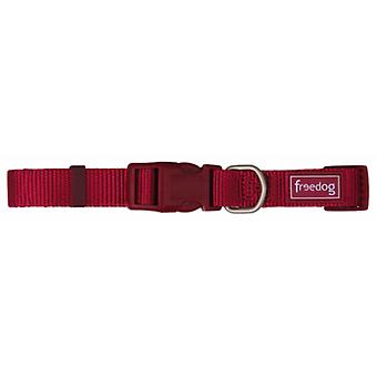 Freedog Nylon Basic Garnet necklace 10mm (Dogs , Collars, Leads and Harnesses , Collars)