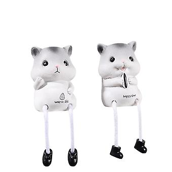 Swotgdoby Hanging Feet Doll Ornaments Long Legs Table Fireplace Decor Home Decoration