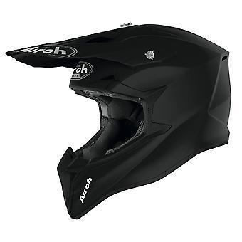 Airoh Wraap Motocross & ATV Off Road Motocross & ATV Helmet Black Matt