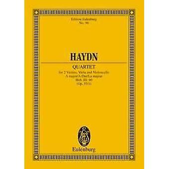 Haydn: Quarteto de Cordas Uma grande operação. 55/1 Hob. III: 60 escores de estudo