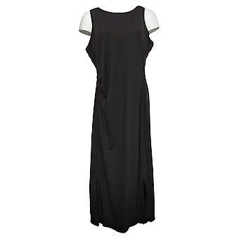 zuda Dress Z-Cool Regular Printed Knit Midi Dress Black A377787