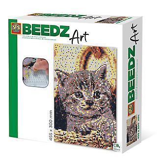 Kit de mosaïque d'art Cat Beedz, 7000 perles de fer